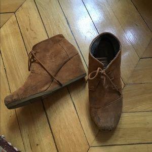 Toms heeled booties